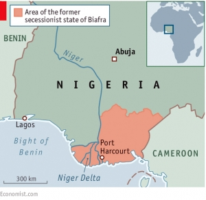 Port Harcourt is the major seaport of Biafra.
