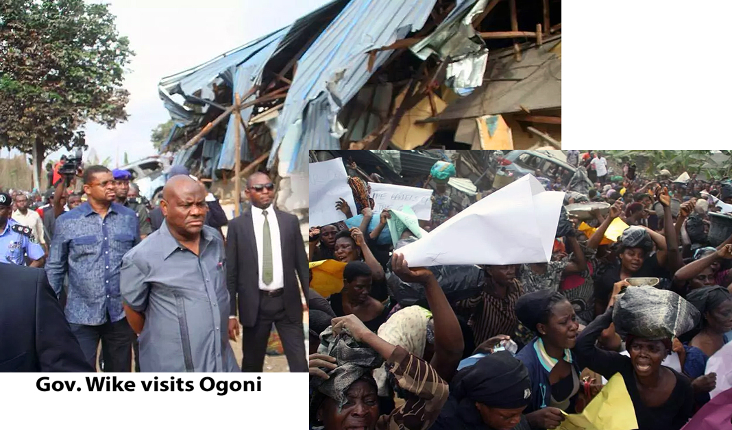 Ogoni at Buhari's crosshairs for resisting the Multinational Oil Companies.