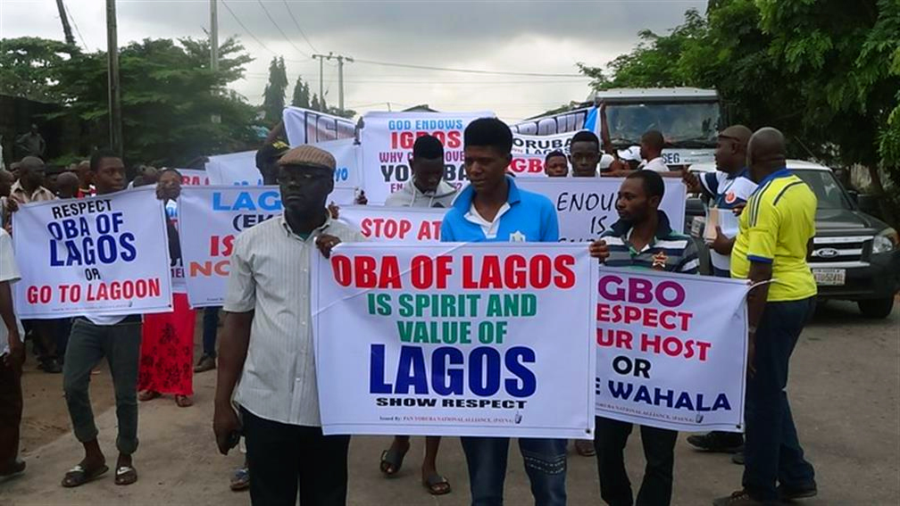Putting Igbo Lagosians in their place by threat of force