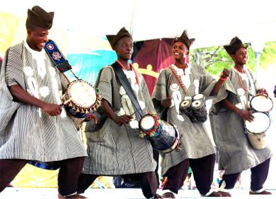 Popular cultural musical entertainment in Yoruba nation