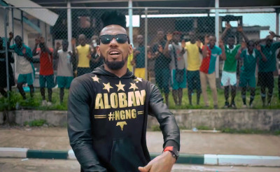 African rock artiste with lair for rap in Igbo