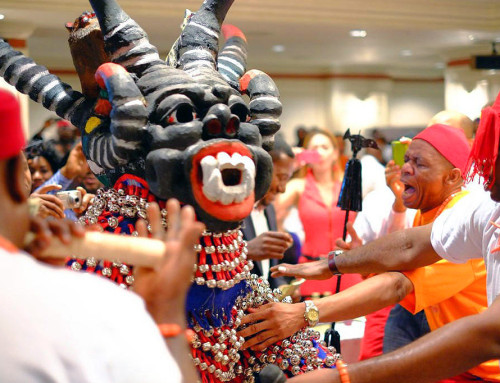 Igbo Dance Masquerades Respond to Prompts by the Lead Drummer, Flutist Etc