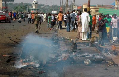 Martyrdom through suicide bomb