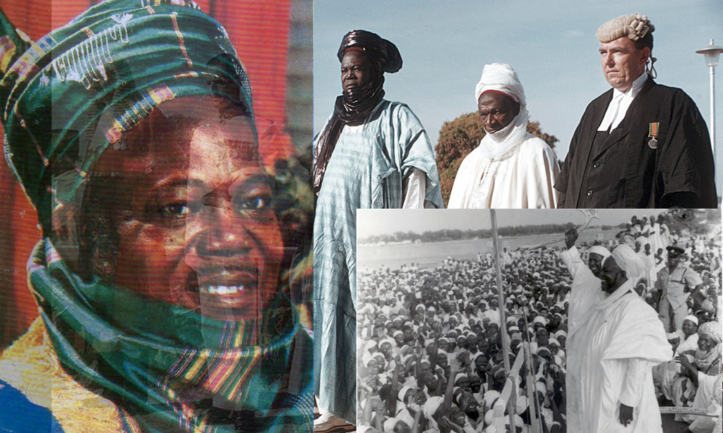 Ahmadu defined Northern Nigeria & rest of the country.