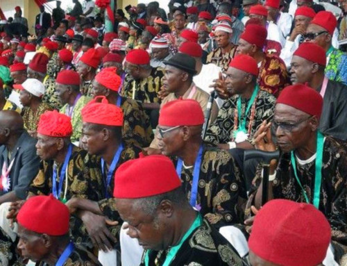 Major Pan-Igbo Groups Unify Their Stance on Stopping 2019 General Elections & Demand for Referendum – Communique