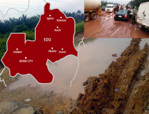 We Can't Even Get from Benin to Ekpoma Because the Road Has Failed – Obaseki