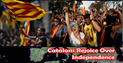 Catalonians are free at last.