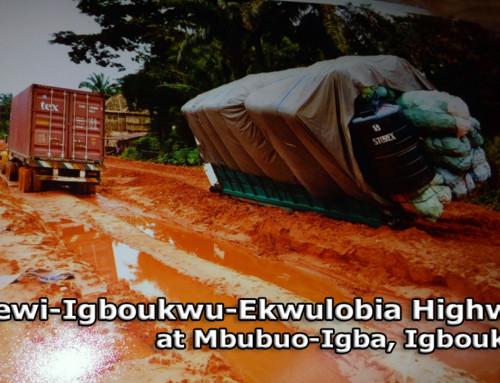Nnewi-Igboukwu-Ekwulobia Road in Shambles Under Gov. Obiano – Hon. Gaius Ezeh