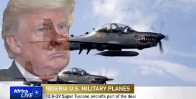 Trump arms Buhari