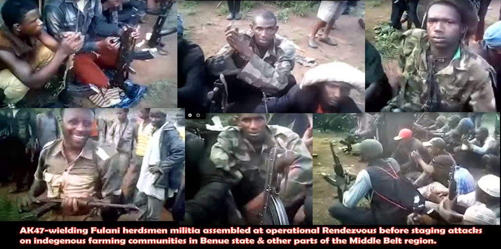faces of herdsmen militia