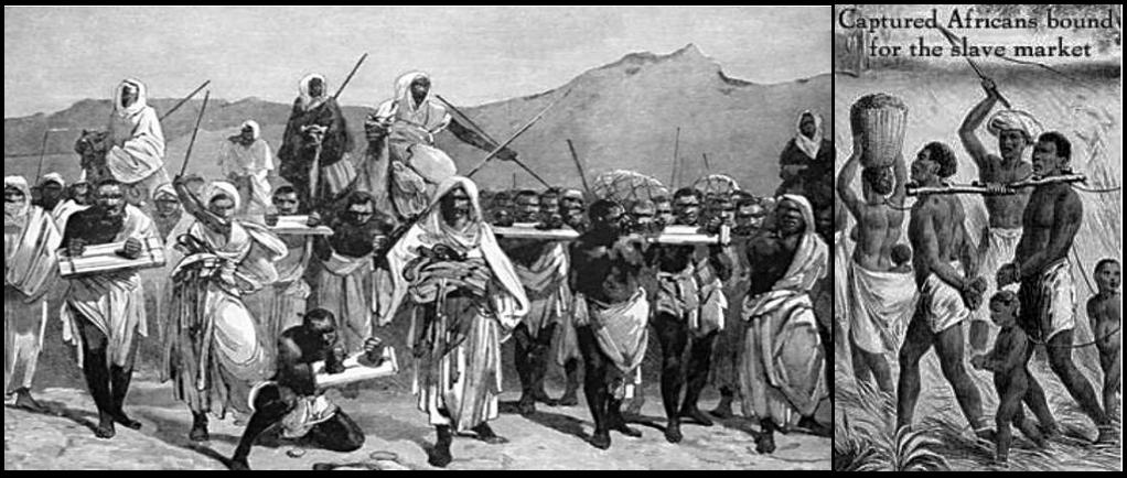 Arab & African plunder