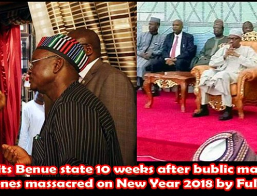 President Buhari, Order an Immediate Arrest & Prosecution of Leadership of MACBAN for Mass Murder – Ortom