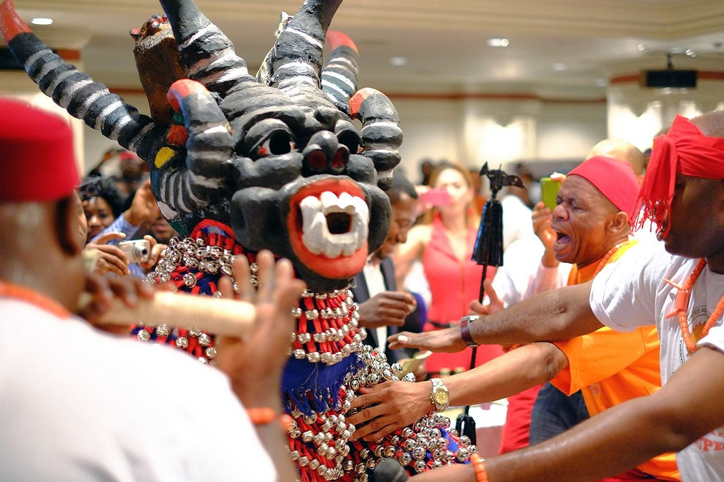 Igbo masquerade emblemizes the ancestors