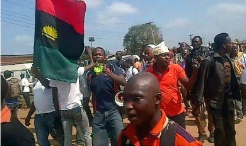 Youths' frustrations spill into the streets in peaceful protests.