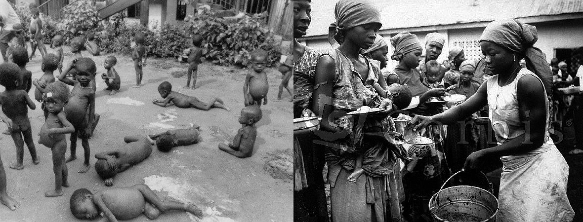 Starvation used as instrument of war by Nigeria