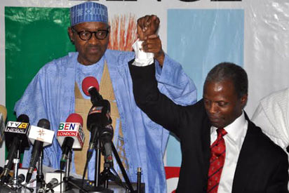 Hausa/Fulani-Yoruba bridal couple resurface in 2015 general elections