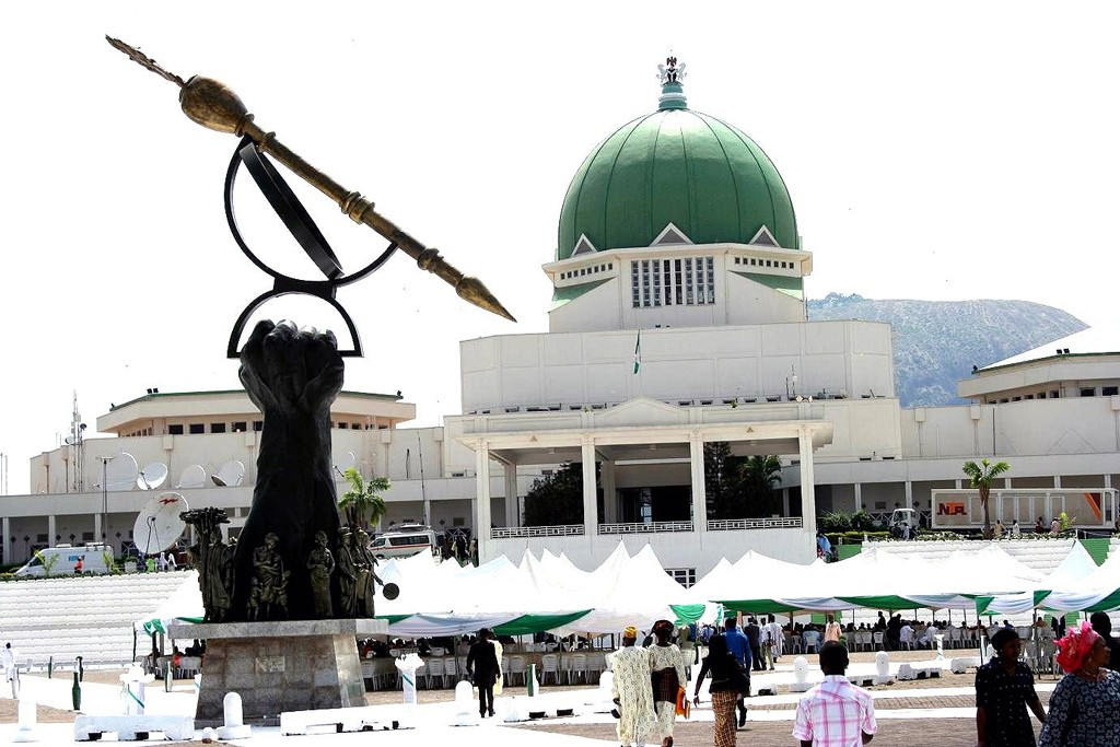 Citadel of power for Nigeria's central government in Abuja