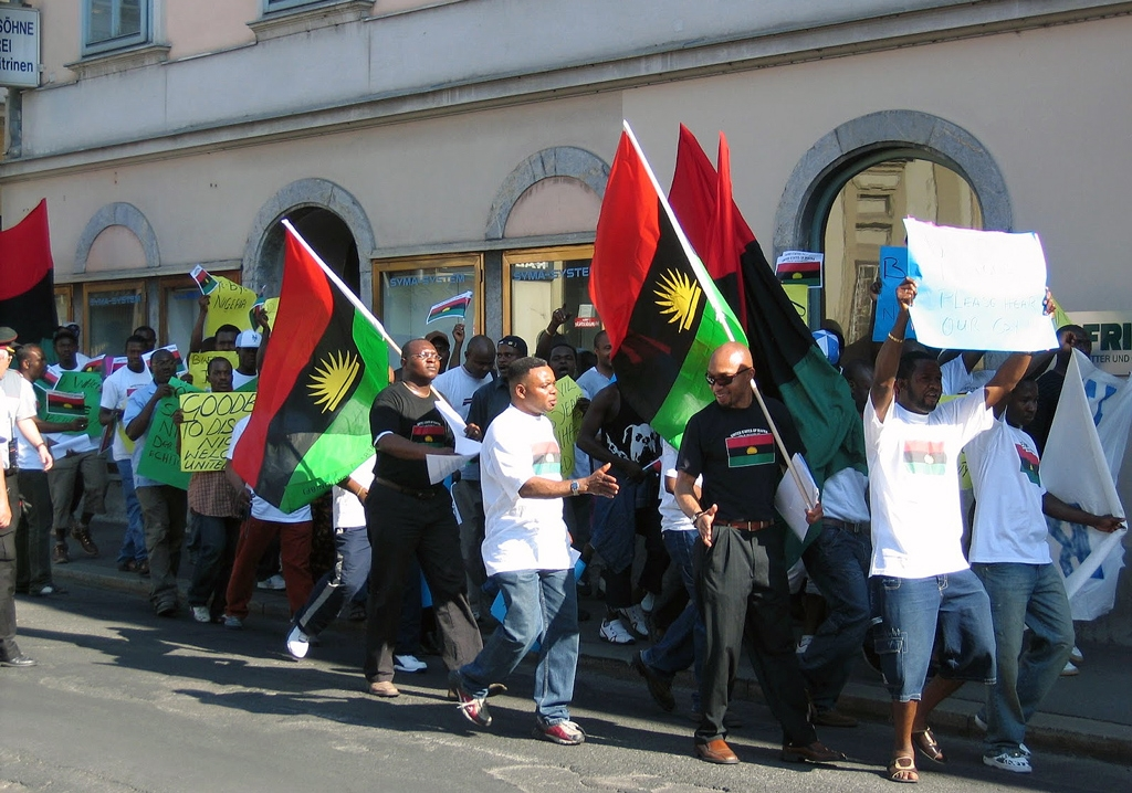 Demand for Biafra escalated with arrest of IPOB leader in Nigeria