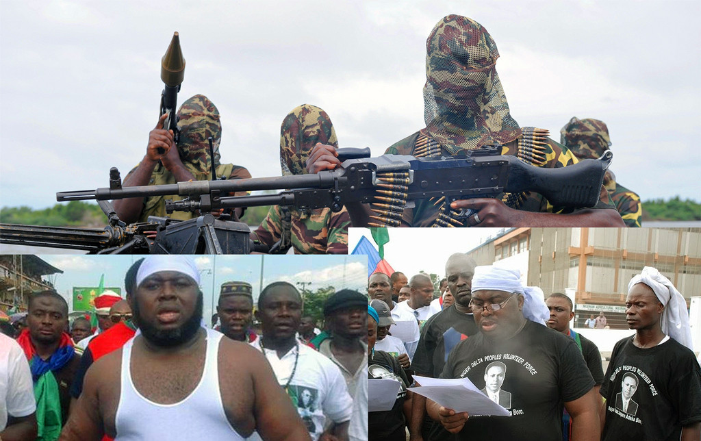 Niger Delta militant with a public face