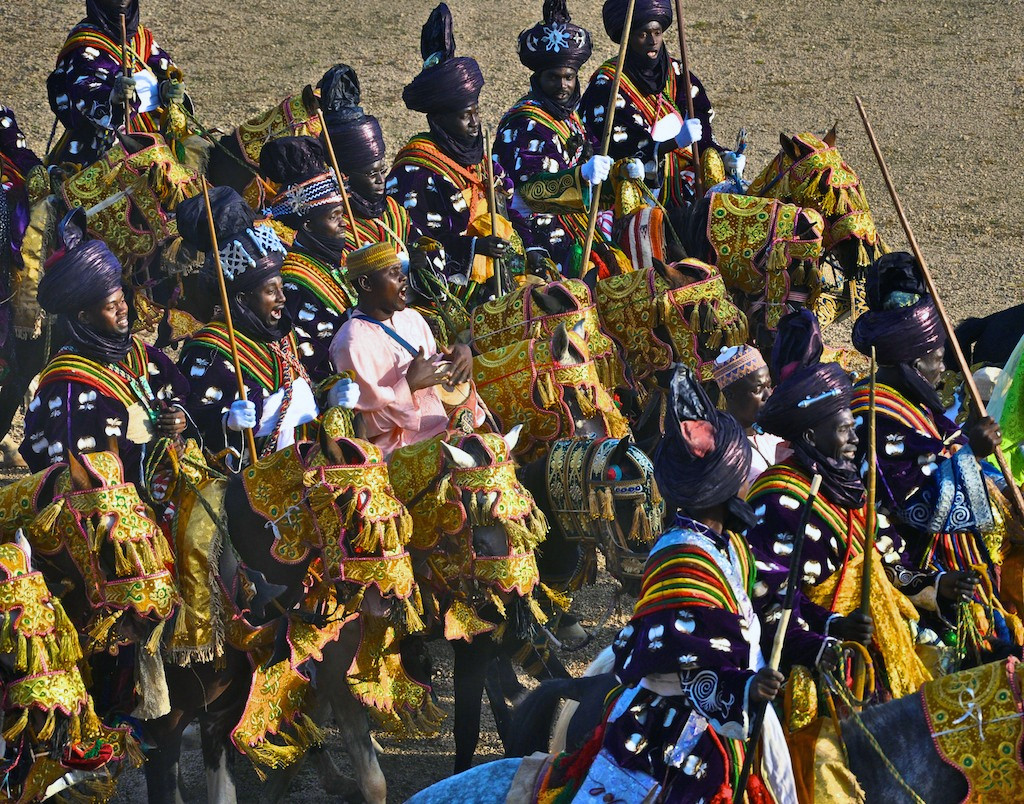 Fulani pomp and pageantry