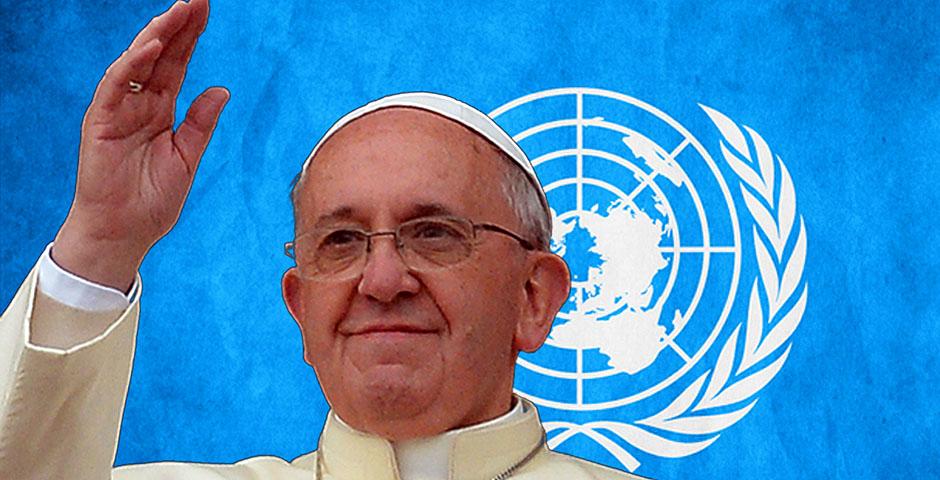Pontiff admonishes the world body