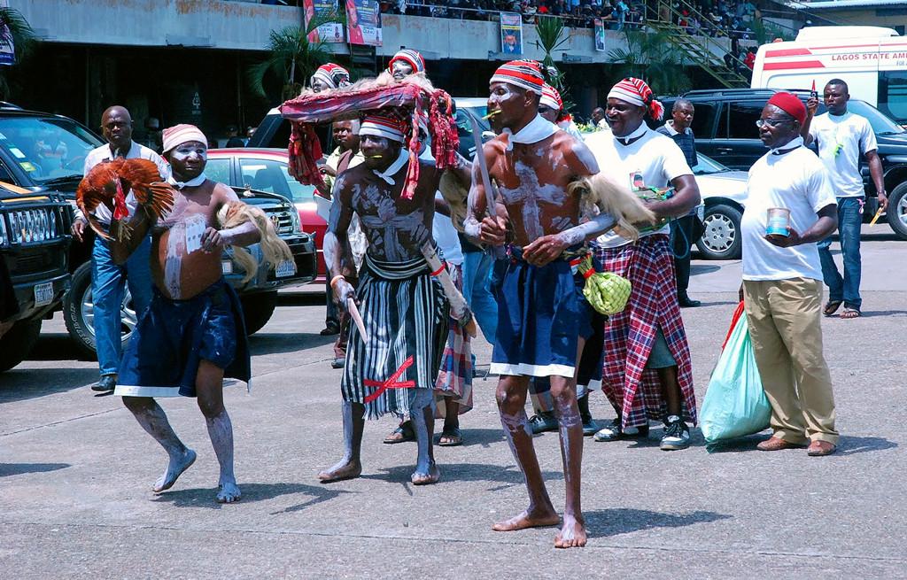 Traditional Igbo war dance