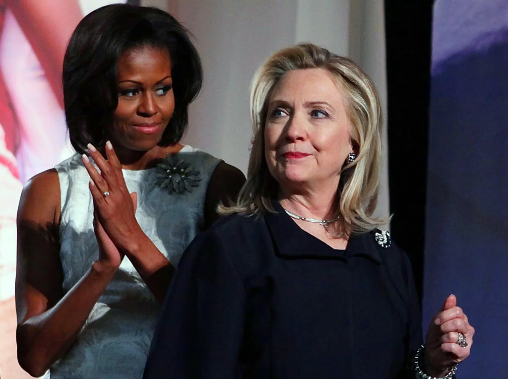 Clinton-Obama duo too much for trump fear-mongering tactics.