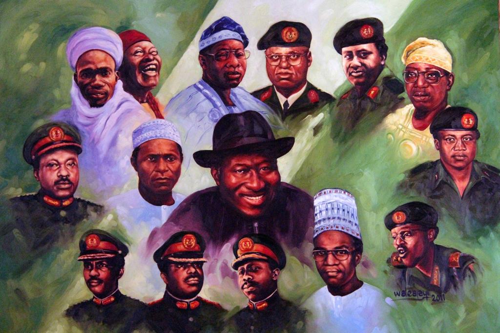 Nigeria's misrulers since 1966