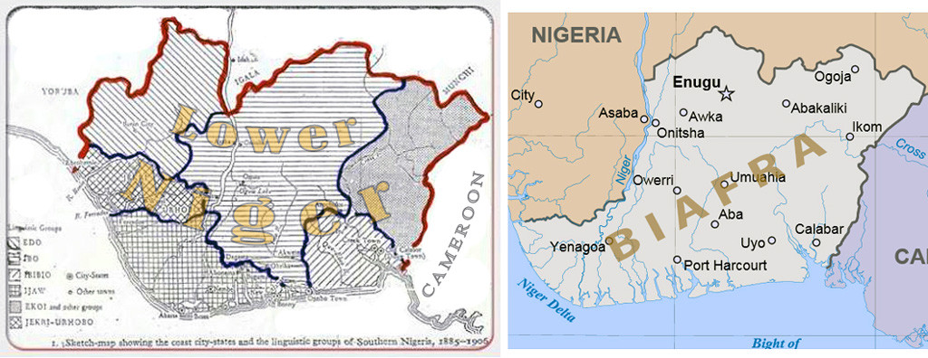 Varying images of Biafra