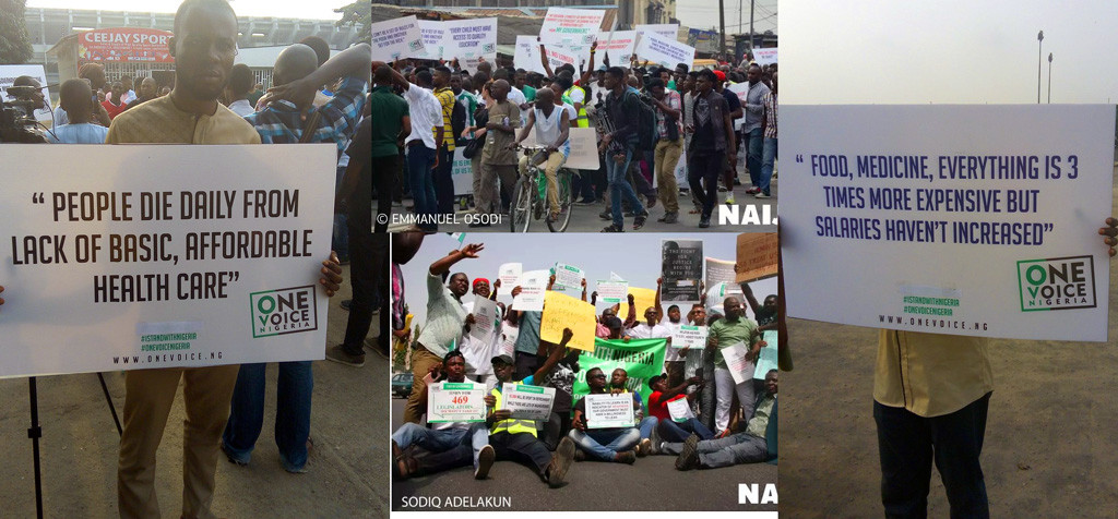 One Voice is galvanizing all over Nigeria.