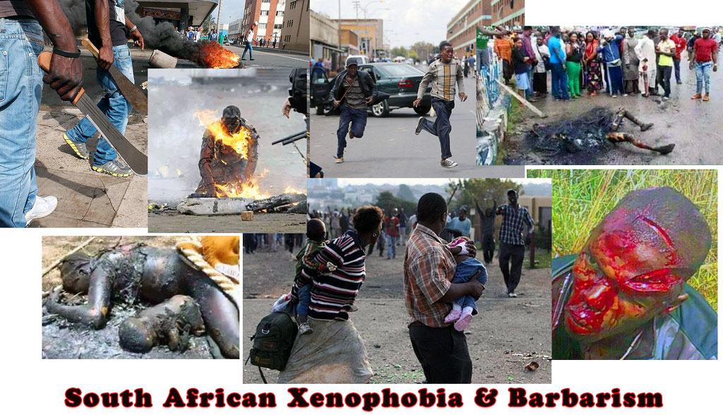 South African barbarism & xenophobia