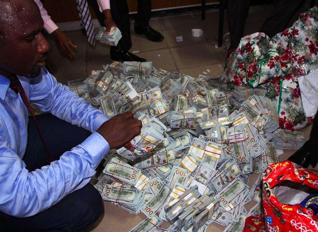 Hidden cash busted