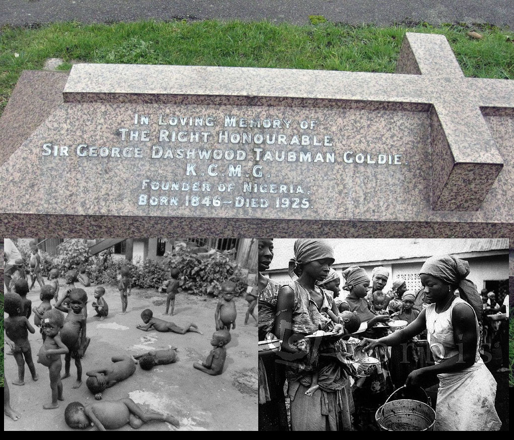 Biafran lands were sold by Goldie for 30 pieces of silver.