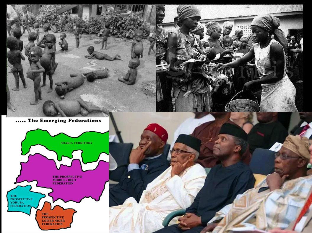 Genocide culminates in devolution