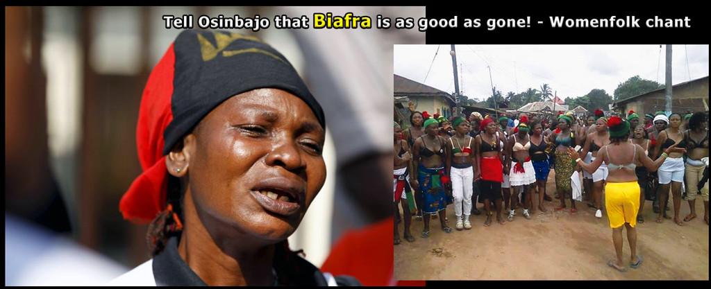 Biafra is a goner!