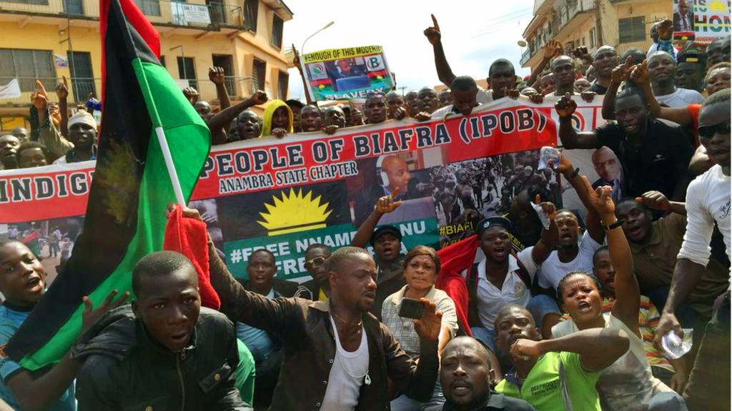 Youths support IPOB