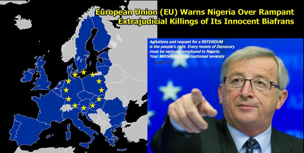 EU warns Nigeria