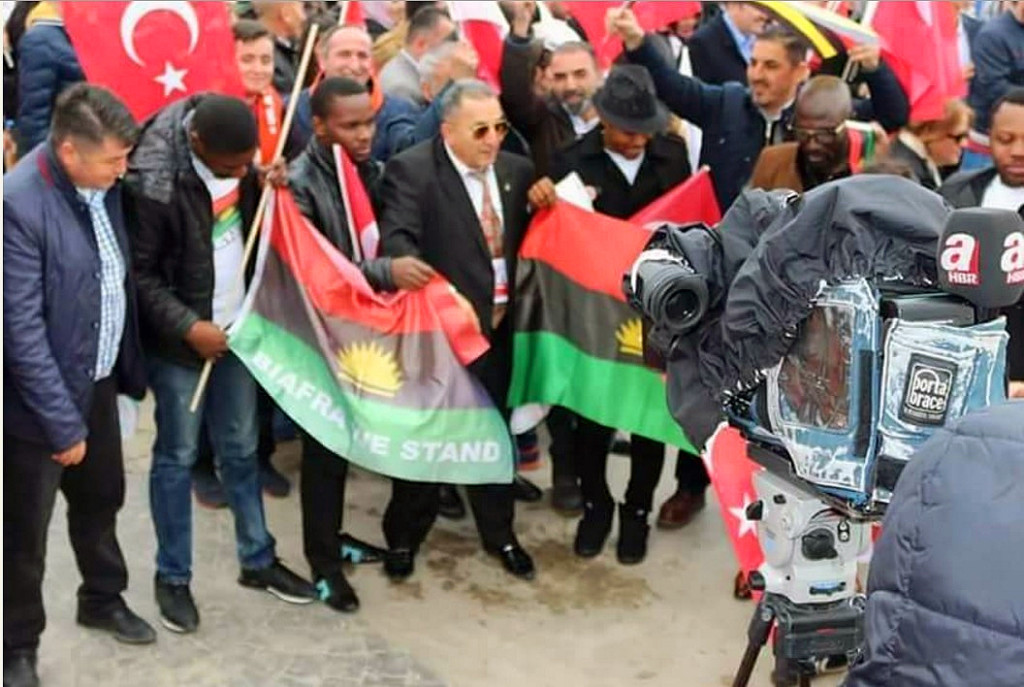 Turkey for Biafra freedom