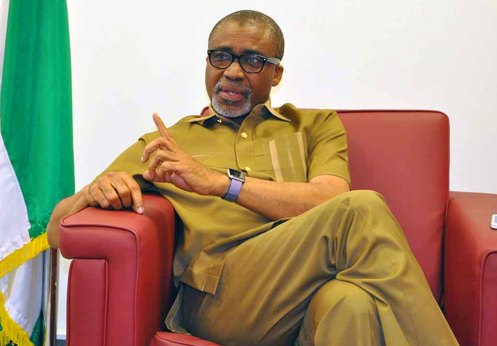 Senator Abaribe of Abia South