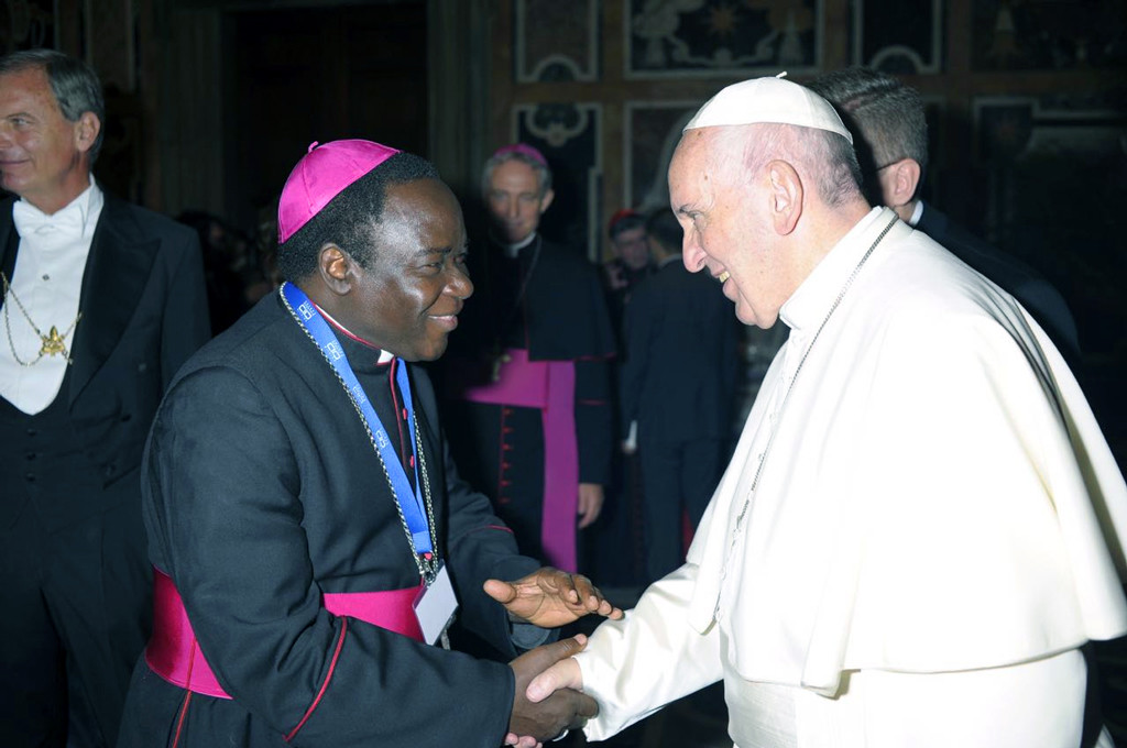 Kukah meets Pope Francis