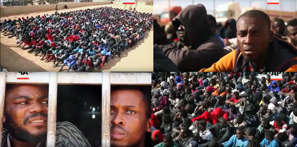 Migrants with betrayed hopes
