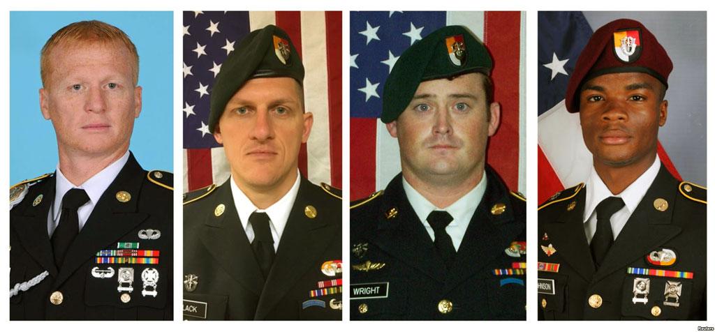 US soldiers died in ambush
