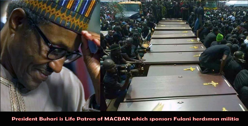 Mass burial of Fulani victims