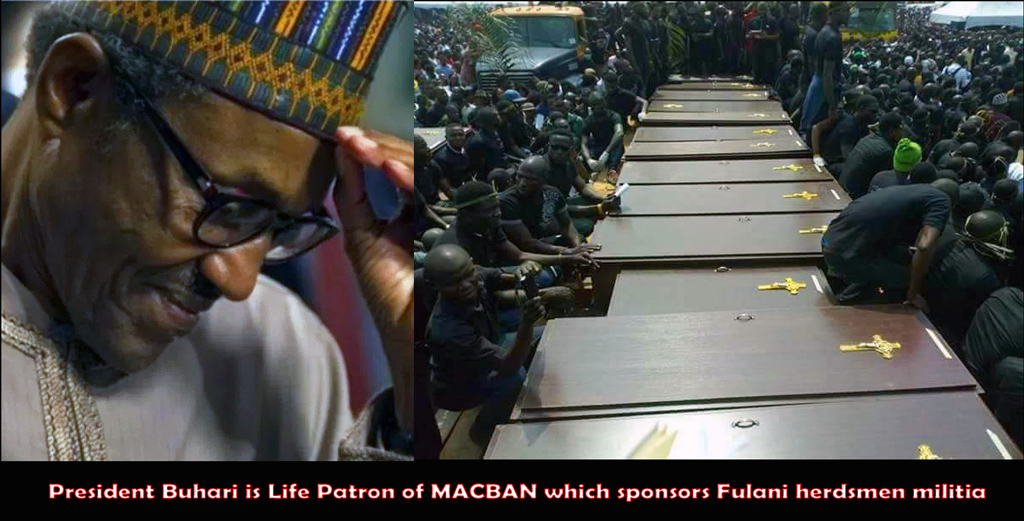 Mass burial of Fulani victims