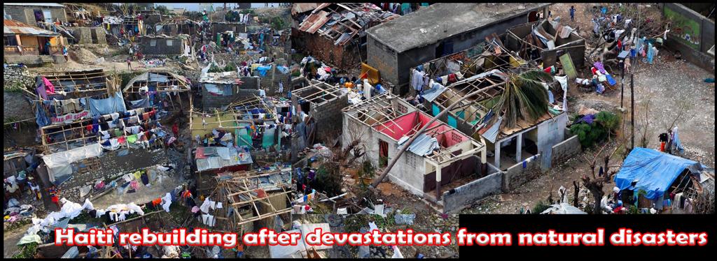 Haiti always rebuilding