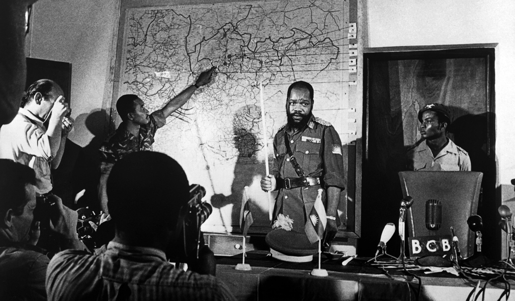 Ojukwu engages the media