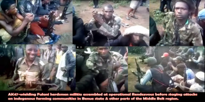 faces of herdsmen militia