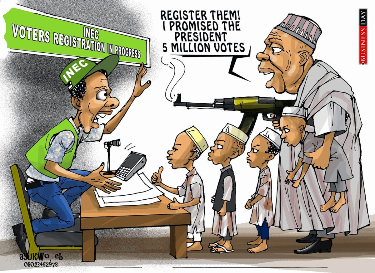 Underage registration by INEC
