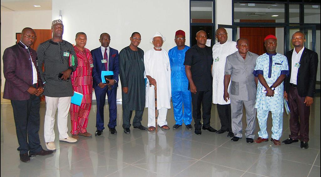 ADF leadership team confers