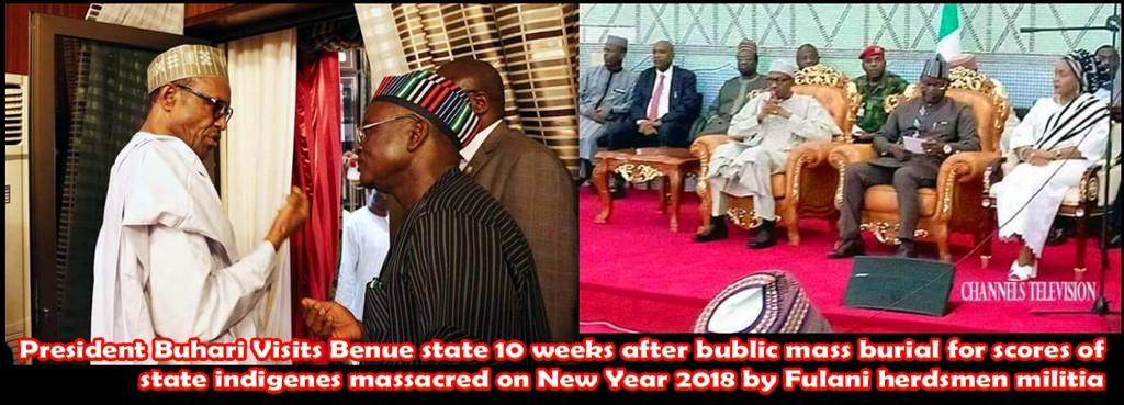 Buhari finally visits Benue